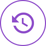 Turnaround times icon